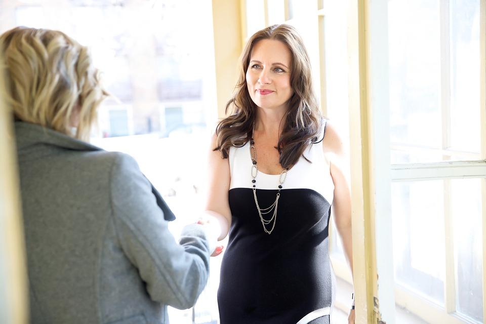 Businesswoman Job Woman Job Interview Interview